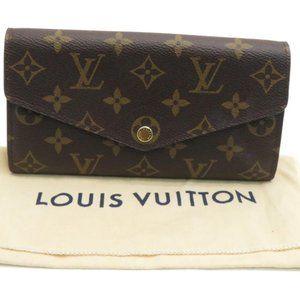 Authentic Louis Vuitton Sarah Wallet